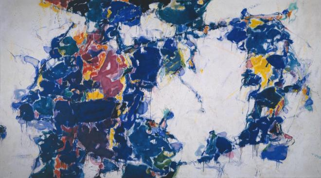 Around the Blues 1957-62 by Sam Francis 1923-1994